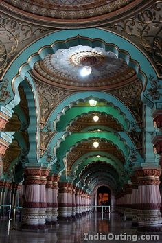 Mysore Palace, India - going to try to see this next weekend. SO excited!