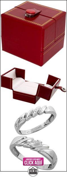 Revoni - Alianza de oro blanco  ✿ Joyas para hombres especiales - lujo ✿ ▬► Ver oferta: https://comprar.io/goto/B003PDUMF2