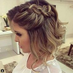 hairstyles for weddings for short hair