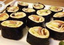 Fitness Dessert.de Omelett Sushi 01 210x150 Omelett Sushi
