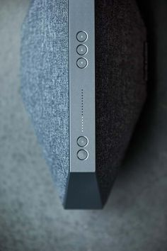 'Dynaudio - Music' Designed by Swift Creatives design studio (Denmark) Bluetooth, Wireless Speakers, Wireless Music System, Speaker Design, Electronics Gadgets, Minimal Design, User Interface, Scandinavian Design, Industrial Design