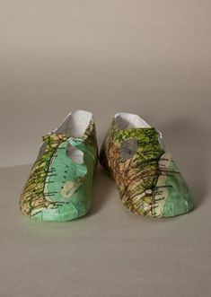 For all those places you wish your children will one day visit. The perfect shoe :)