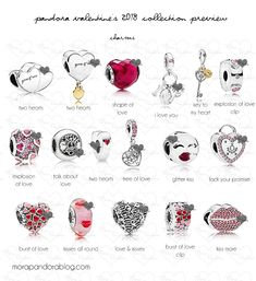 Today's post rounds off the week with an updated look at the upcoming Pandora Valentine's Day 2018 collection! I previously posted some sneak peeks a month or so ago, but this post offers a comprehensive preview of the upcoming jewellery. With the usual pinks, a dash of red, and some controversial lips motifs, this release … Read more...