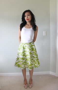 a line skirt diy