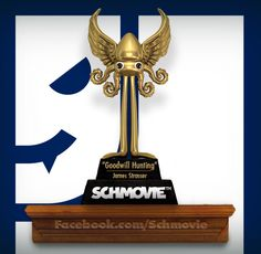 "AND THE SCHQUID FOR A HORROR FILM ABOUT A DISCOUNT HITMAN GOES TO... ""Goodwill Hunting"" (James Strasser) with 22 votes. There's nothing cheap about your win, James! Congratulations!"