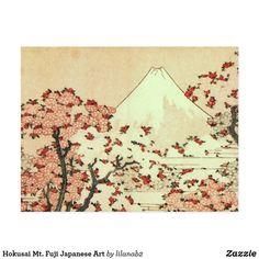 Carte Postale Art de Japonais de Hokusai le mont Fuji