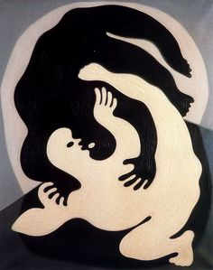 Vasarely, Victor (1908-1997) - 1945 Catch (Private Collection) by RasMarley, via Flickr