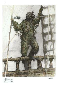 Pirate of The Caribbean: 60 Original Concept Art Gallery