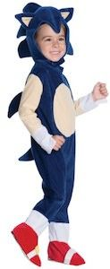 Sonic The Hedgehog Kids Costume.