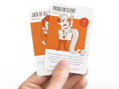 Creative Clash Person Cards