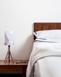 diseño de gama alta de iluminación hechos a mano, mesa / lámpara de la cama