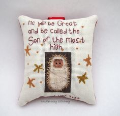Cross Stitch Christmas Ornament, Scripture Ornament. $13.00, via Etsy. Small Cross Stitch, Just Cross Stitch, Cross Stitch Charts, Cross Stitch Patterns, Christmas Mom, Christmas Cross, Cross Stitching, Cross Stitch Embroidery, Embroidery Cards