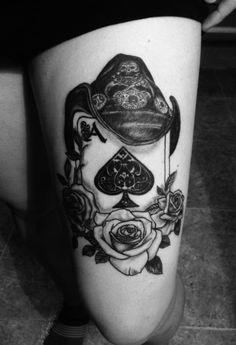 Ace of Spade tattoo RIP. Lemmy Kilmiste - Motorhead front man