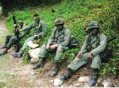 Operation Urgent Fury 1983 Grenada 2nd Batt. Ranger reenactment