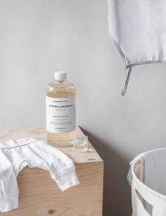 """Waschmittel für empfindliche Haut parfumfrei """"Steamery Hypoallergenic"""" 750 ml Glycerin, Calcium Chloride, Sensitive Skin, Alcohol, Tips"""
