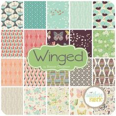 Winged by Bonnie Christine | SouthernFabric.com