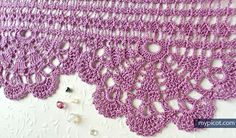 Free crochet edging pattern: Wide Economy Lace #58
