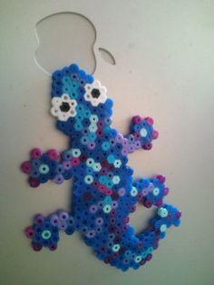 Lizard - hama beads