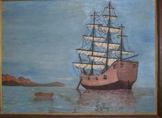 3: Gary Dee, First Painting - Ship