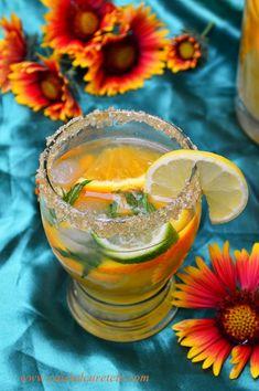 Limonada de citrice - CAIETUL CU RETETE Punch Bowls