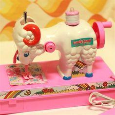 おもちゃのひつじミシン