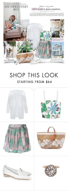 """""""Happy  People Shine Brighter"""" by thewondersoffashion ❤ liked on Polyvore featuring Monsoon, Tory Burch, Ann Demeulemeester, PLANT, Ermanno Scervino, Nicholas Kirkwood and Selim Mouzannar"""