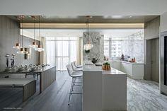 Kelly Hoppen beautiful minimal apartment interior design in Shenzen! Feel inspired: www.luxxu.net   #interiordesign #kellyhoppen #luxurydesign