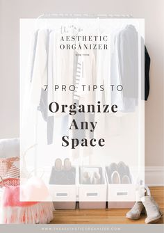 Thoughtful organization takes time! One of the biggest setbacks in getting organized is trying to do too much at once. You'll wind up feeling overwhelmed, burn out quickly, and you may never actually complete a project. #homeorganization #linenstoragebin #wardrobe #woodenhangers #professionalorganizer Wardrobe Organisation, Linen Closet Organization, Bathroom Organization, Organization Hacks, Beautiful Closets, Small Space Solutions, Wooden Hangers, Tidy Up, Feeling Overwhelmed