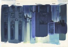 Anime_architecture_house_of_illustration_ Hiromasa Ogura: Background illustration for Ghost in the Shell cut 311 © 1995 Shirow Masamune, Kodansha, Bandai Visual, Manga Entertainment Sci Fi Anime, Anime Films, House Illustration, Illustrations, Shell Drawing, Architecture Background, Creators Project, Museum, Fictional World