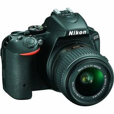 Nikon D5500, DSLR Camera (with Video), CMOS, 24.2 MP, Full HD 1920 X 1080p/60fps, with 18 - 55 mm Zoom - Nikkor VR II Lens