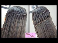 2 peinados en 1, con un efecto bellisimo! Esta trenza escalera atraera muchas miradas! #ChicTrenzaEscalera