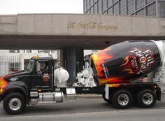 Mack Trucks, Semi Trucks, Ready Mixed Concrete, Cement Mixer Truck, Concrete Mixers, Heavy Duty Trucks, Full Throttle, Custom Trucks, Heavy Equipment