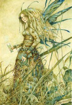 Absinthe Faerie ~ Larry MacDougall 2009