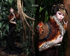 Model: Elena B from Diva Models  Makeup & Hair: Christine Yong  Frederick Lee Couture
