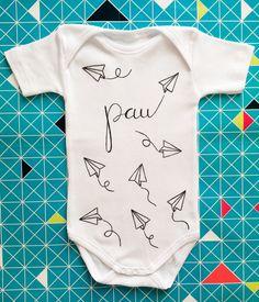 body personalizado para bebé by Troompa