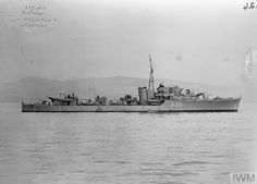 HMS Partridge, a P class Destroyer. Built by Fairfield Shipbuilding, Govan & commissioned 22/02/42. 18/12/42 08.06 hours on an anti-submarine sweep, was hit by a torpedo from  U-565 and sank west of Oran, Algeria in position 35º50'N, 01º35'W with the loss of 3 officers & 35 men.