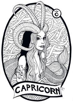 Zodiac by massica-art on DeviantArt, . Zodiac by massica-art on DeviantArt, . Capricorn Sign, Capricorn Tattoo, Zodiac Sign Tattoos, Virgo Art, Zodiac Art, Astrology Zodiac, Imagenes Pink Floyd, Aries Constellation Tattoo, Handy Iphone
