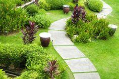 Необычные садовые дорожки – 30 фотоидей | Вдохновение (Огород.ru)
