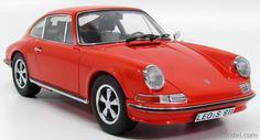 SCHUCO 0353 Scale 1/18  PORSCHE 911S 2.4 901 COUPE 1973 DARK ORANGE