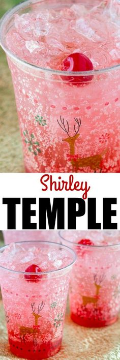 This Shirley Temple recipe is great for holiday parties, expectant mothers, or designated drivers! It's the ultimate Kiddie Cocktail!