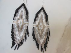 Malocchio 2.0 Woven Dangle Earrings