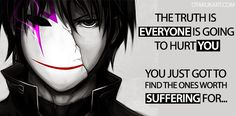 Perfect Manga & Anime Quotes For Broken Hearted Person