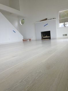 new white oak floor