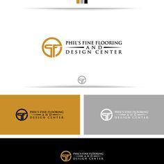 Phil's Fine Flooring and Design Center - Create a Capture Flooring and Design Center Logo