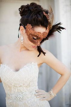 60 Original Masquerade Wedding Ideas | HappyWedd.com