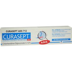 CURASEPT Zahnpasta 0,12 prozent CHX:   Packungsinhalt: 75 ml Zahnpasta PZN: 01906872 Hersteller: CURADEN SWISS GmbH Preis: 5,49 EUR inkl.…