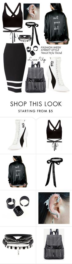 """""""Lace it up"""" by skyeham ❤ liked on Polyvore featuring Puma and Isidoro Francisco"""