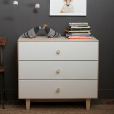 Merlin Three-Drawer Dresser | giggle