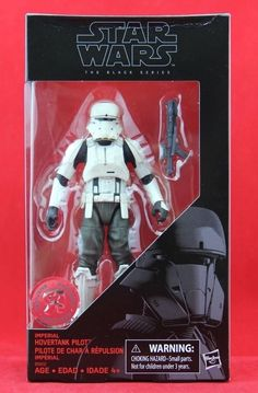 """Imperial Hovertank Pilot Star Wars Black Series 6"""" Inch Figure Free Shipping New #Hasbro"""