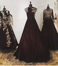 """10.4k Likes, 222 Comments - Manish Malhotra (@manishmalhotra05) on Instagram: """"#delhi #flagshipstore #couture this season #rich #formal #luxurious #gowns #skirts with #antique…"""""""
